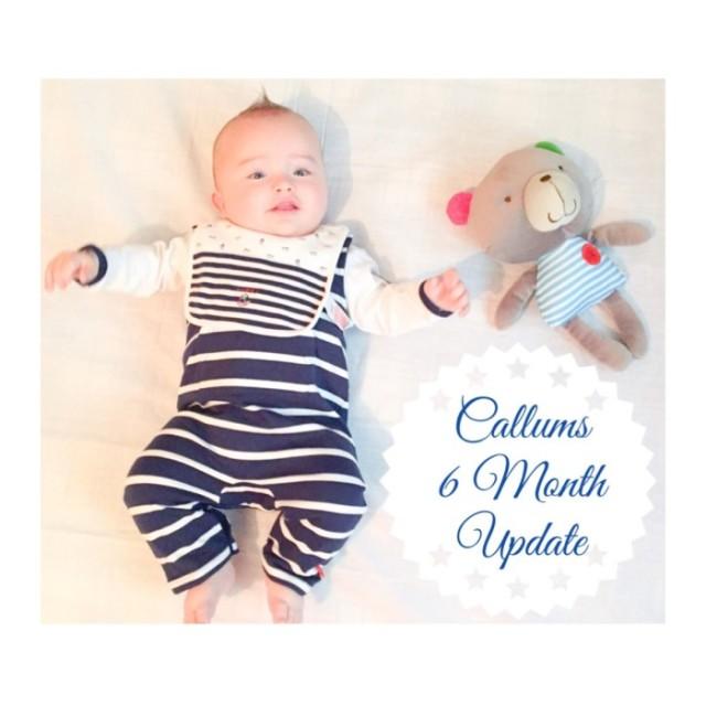 callums 6 month update yummymummystyleblog.wordpress.com