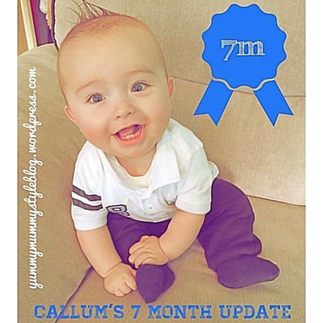 callums 7 month update baby milestones yummymummystyleblog.wordpress.com