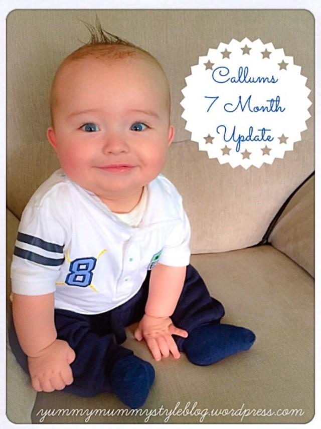 callums 7 month update babymilestones yummymummystyleblog.wordpress.com