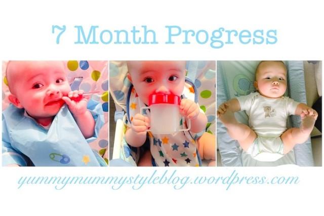callum's 7 month update babymilestones yummymummystyleblog.wordpress.com