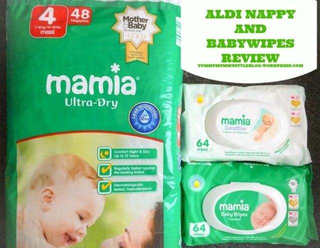 ALDI Baby Products Review yummymummystyleblog.wordpress.com8 ALDI nappies ALDI nappy ALDI babywipes mamia