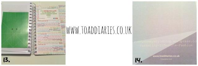 my new blog planner from toad diaries yummymummystyleblog.wordpress.com