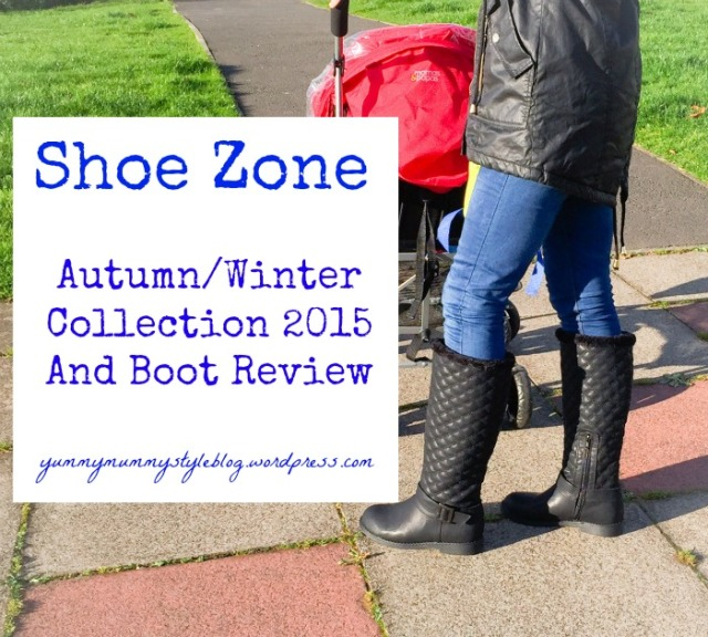 Shoe Zone Autumn Winter Collection and boot review www.shoezone.com  yummymummystyleblog.wordpress.com